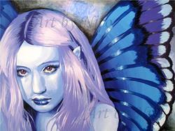 Art: Blue Fairy by Artist Nico Niemi