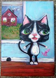 Art: RIP The Stalker by Artist Noelle Hunt