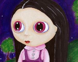 Detail Image for art Blythe Girl with Pityy Puppy