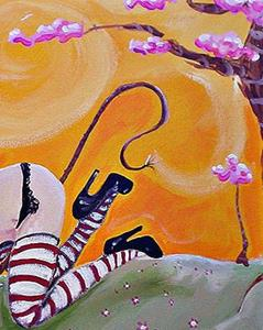 Detail Image for art The Pussy Cat in the Hat