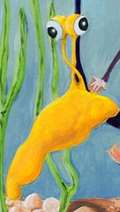 Detail Image for art Sea Monkey & Banana Slug