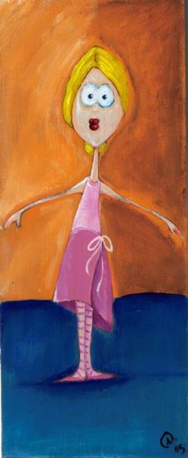 Art: Ballerina by Artist Noelle Hunt