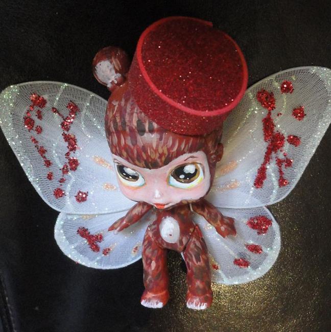 Art: Flying Monkey by Artist Noelle Hunt