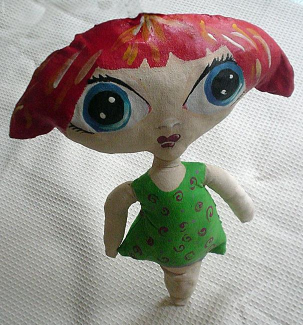 Art: La Enfante terrible by Artist Noelle Hunt
