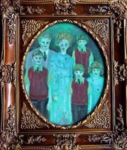 Detail Image for art The Zombie Family Singers