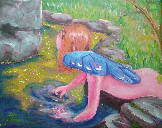 Art: Secret Garden by Artist Noelle Hunt