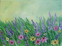 Art: Spring Flowers by Artist Padgett Mason