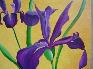 Detail Image for art Iris Delight