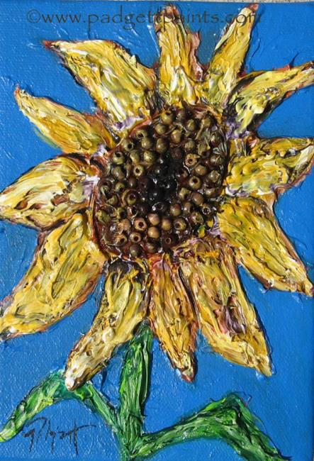 Art: Sunny SOLD by Artist Padgett Mason