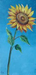 Art: Sunflower by Artist Padgett Mason