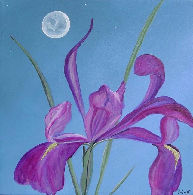 Art: Iris Moon by Artist Padgett Mason