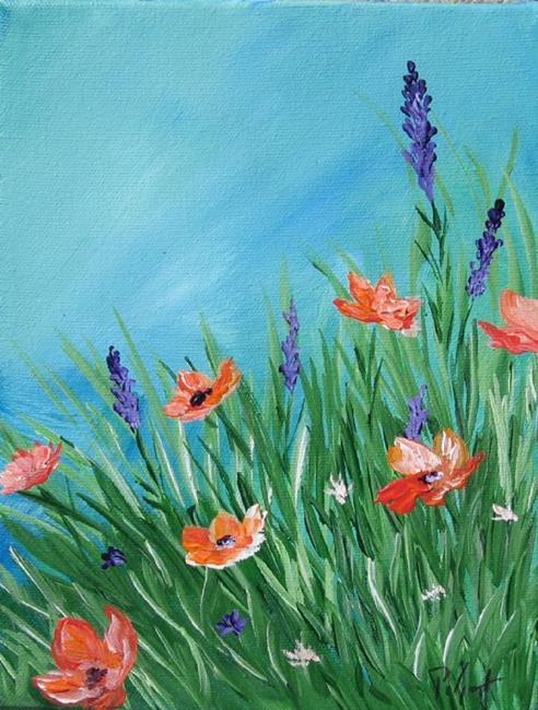 Art: Spring Blooms by Artist Padgett Mason