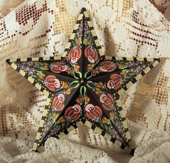 Art: Rose Star 2 (sold) by Artist Shelly Bedsaul