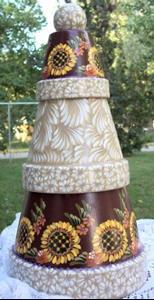 Detail Image for art Sunflower Santa