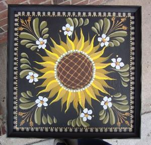 Detail Image for art Sunflower Table