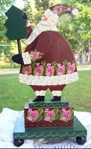 Detail Image for art Santa Greetings