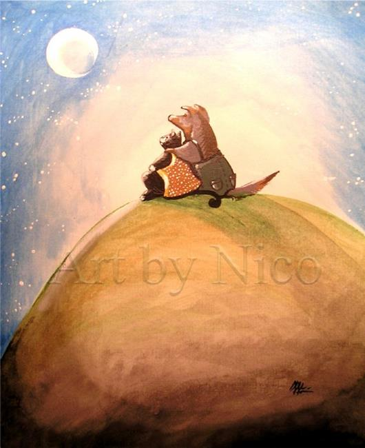 Art: Best of Friends by Artist Nico Niemi