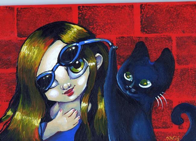 Art: kitty by Artist Nico Niemi