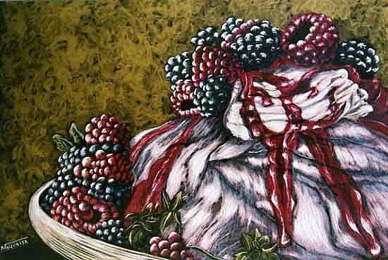 Art: Berry Berry Pudding by Artist Naquaiya
