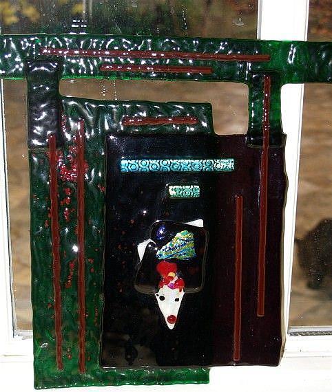 Art: The Orient in Glass by Artist Deborah Sprague