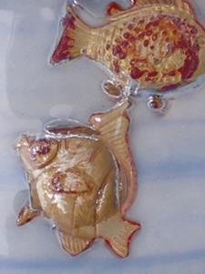 Detail Image for art FISHY fishy In the Sea ART pendant