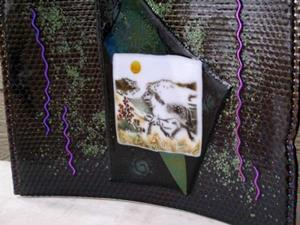 Detail Image for art Glass Horse Sculpture
