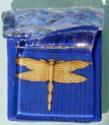 Art: Dragonfly Pendant by Artist Deborah Sprague