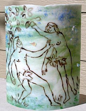 Art: Adam And Eve by Artist Deborah Sprague