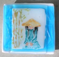 Art: Oriental Tranquility by Artist Deborah Sprague