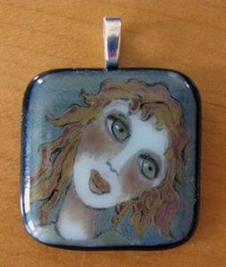 Detail Image for art Girl with Auburn Hair