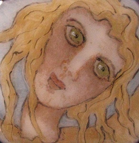 Art: Bottecelli's Angel by Artist Dianne McGhee