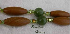 Detail Image for art Wood Jasper Camouflage Necklace