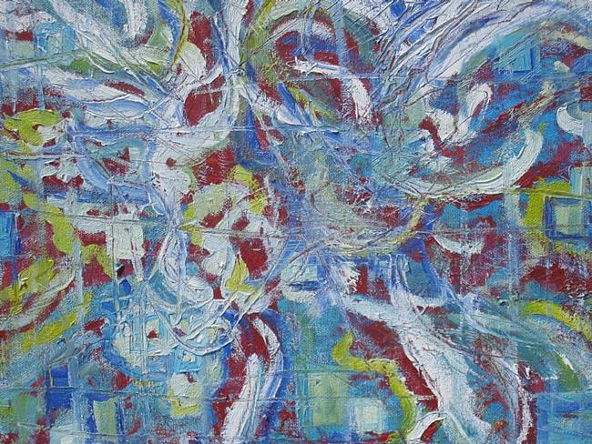 Art: angel cube by Artist zeuxis ~ LA Hollins ~z