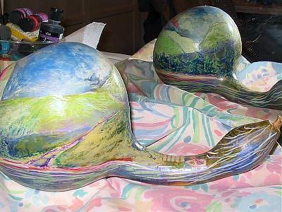 Art: Gourd III by Artist Judith A Brody