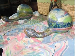 Detail Image for art Gourd III