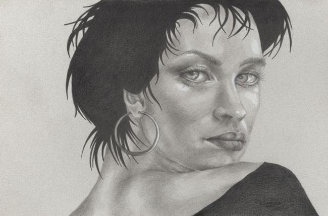 Art: Backward Glance by Artist Shelly Bedsaul