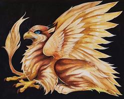 Art: Blue-Eyed Griffin by Artist Nico Niemi