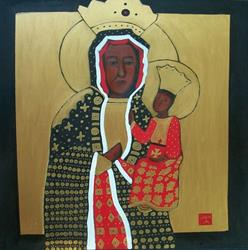 Art: Our Lady of  Czestochowa by Artist Amie R Gillingham