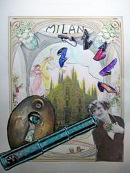 Art: Milan by Artist Marina Owens