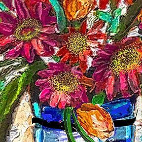 Detail Image for art Gerbera Glory