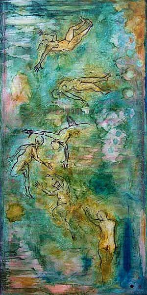 Art: period. by Artist Angie Reed Garner