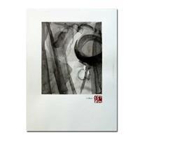 Art: ink wash 07 by Artist victoria kloch