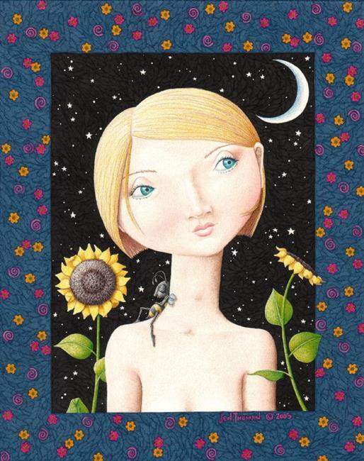 Art: BEE A PAL by Artist Jen Thoman Thurston