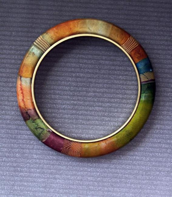 Art: watercolor bangles by Artist Lauren Cole Abrams