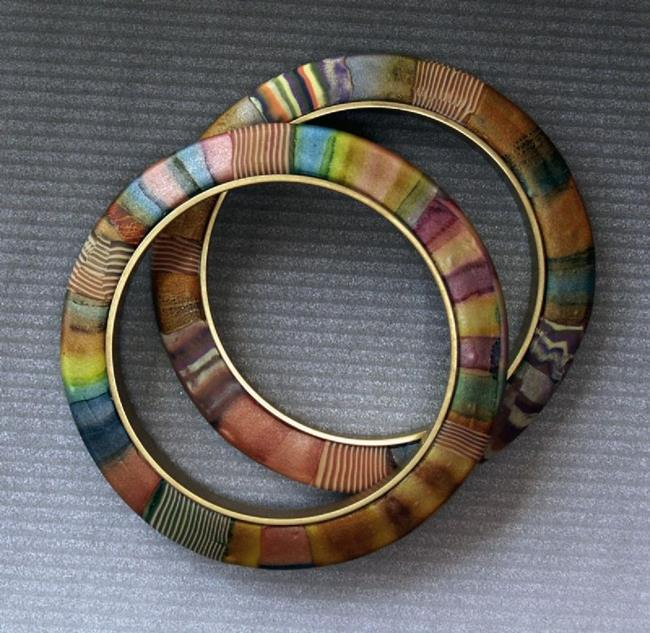 Art: warm bangles by Artist Lauren Cole Abrams