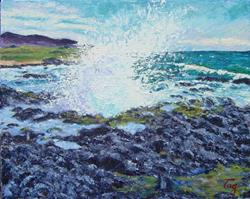 Art: Splash - Hawaii series #1 by Artist Tracey Allyn Greene