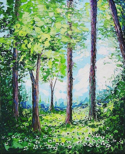 Art: Memoirs of a Summer Breeze by Artist Aja