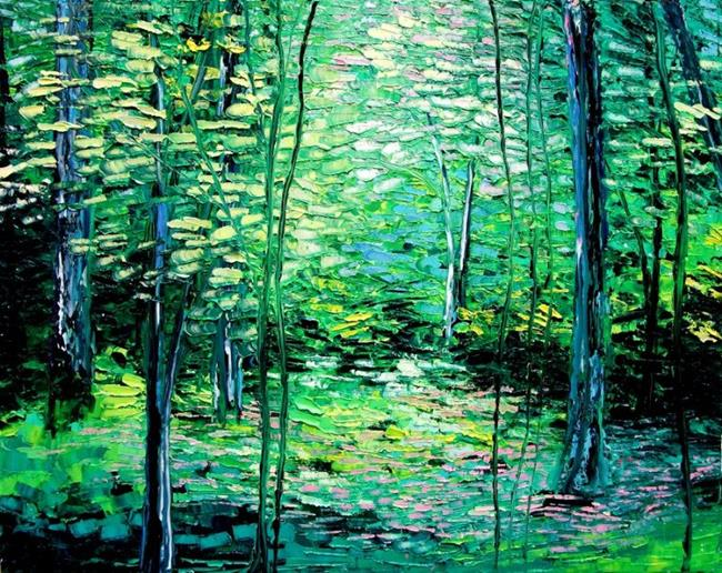 Art: Timberland by Artist Aja