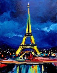 Art: Eiffel VI by Artist Aja