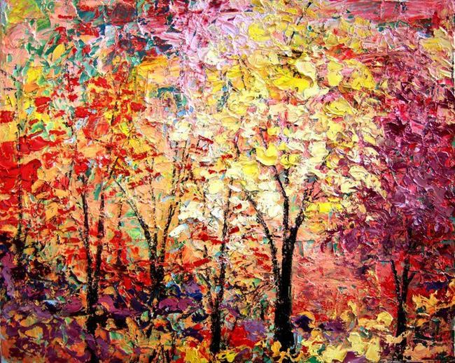 Art: The Height of a Season by Artist Aja